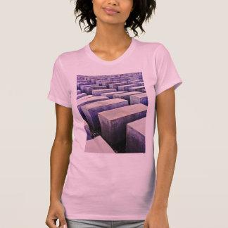 Memorial do holocausto (Denkmal), Berlim, malva (j T-shirts
