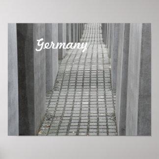 Memorial do holocausto impressão