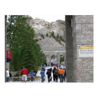 Memorial do Monte Rushmore, South Dakota, cartão