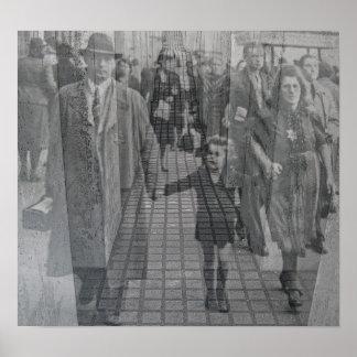 Memorial judaico do holocausto (Denkmal), Berlim ( Pôster