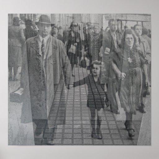 Memorial judaico do holocausto (Denkmal), Berlim ( Pôsteres