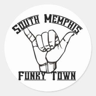 Memphis sul adesivo
