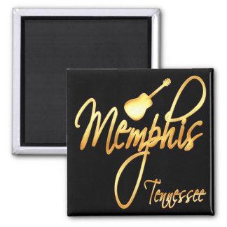 Memphis, Tennessee Ímã Quadrado