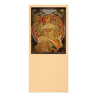 Menina 1897 de Champagne Panfletos Informativos