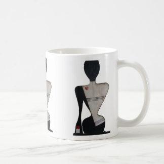 menina 3D Caneca De Café