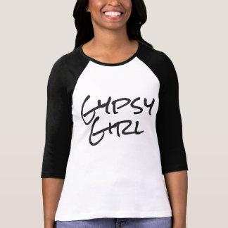 Menina aciganada camiseta