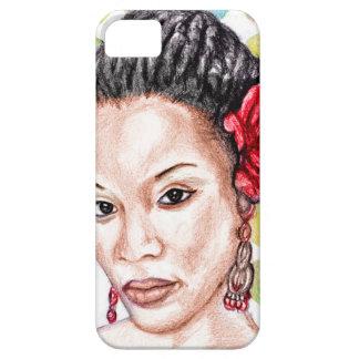 Menina africana capas para iPhone 5