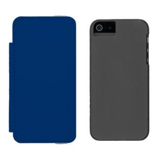Menina Azul-Da parte alta da cidade de Midi do Capa Carteira Incipio Watson™ Para iPhone 5
