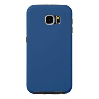 Menina Azul-Da parte alta da cidade de Midi do Capa Para Samsung Galaxy S6
