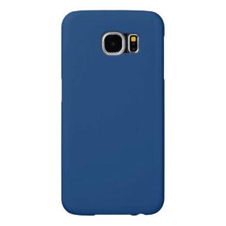 Menina Azul-Da parte alta da cidade de Midi do Capas Samsung Galaxy S6