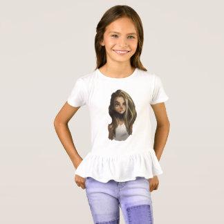 menina camiseta