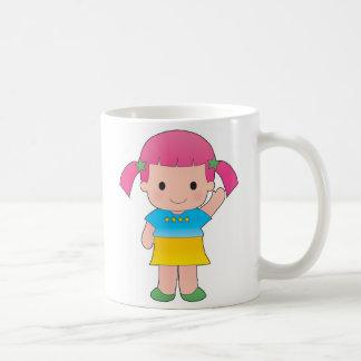 Menina Caneca De Café