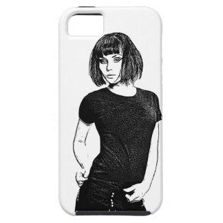 menina capa para iPhone 5