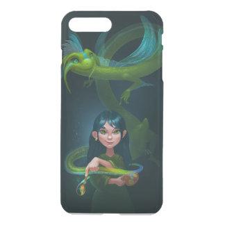 Menina com dragão capa iPhone 7 plus