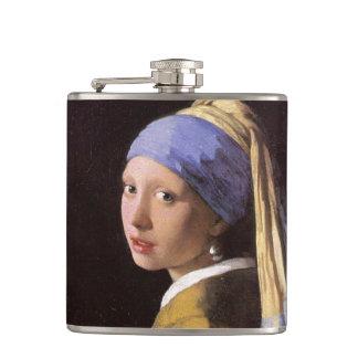 Menina com o brinco da pérola por Vermeer Cantil