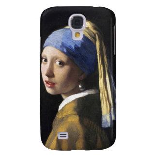Menina com um brinco da pérola, janeiro Vermeer Galaxy S4 Covers