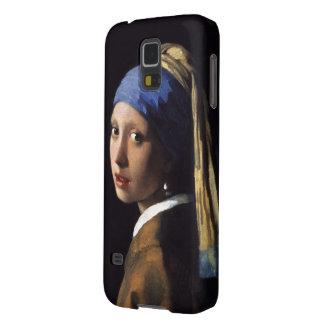 Menina com um brinco da pérola por Johannes Capa Para Galaxy S5