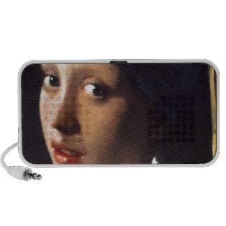 Menina com um brinco da pérola por Vermeer Caixinha De Som Para iPod
