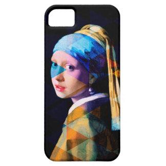 Menina com um brinco da pérola REMIXED Capa Para iPhone 5