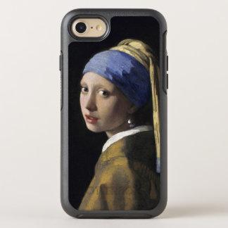 Menina com um brinco Johannes Vermeer da pérola Capa Para iPhone 8/7 OtterBox Symmetry