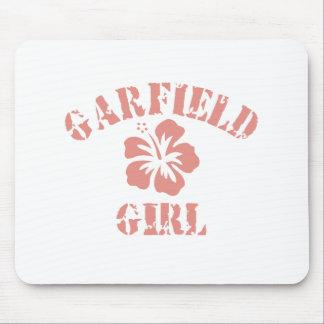 Menina cor-de-rosa das alturas de Garfield
