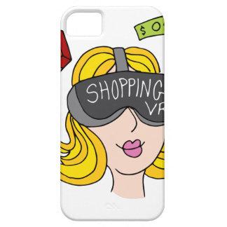 Menina da compra da realidade virtual capa barely there para iPhone 5