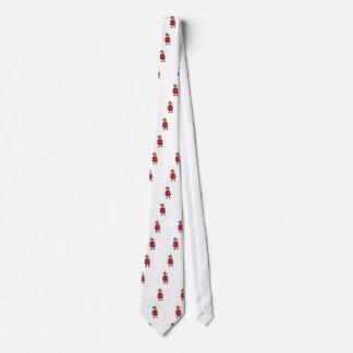 Menina da criança gravata
