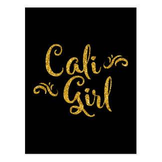 Menina de Cali Cartão Postal