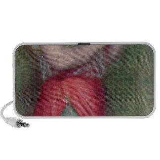 Menina de dança com Pandeiro 1909 Caixinha De Som Para iPod