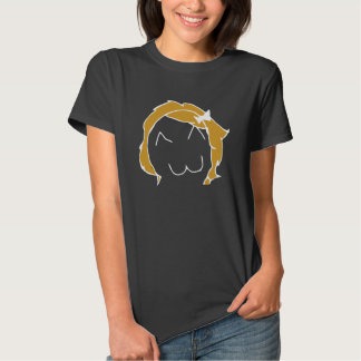 Menina de Derpina Meme para a obscuridade T-shirt