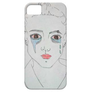 Menina de grito capa barely there para iPhone 5
