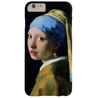 Menina de janeiro Vermeer com um vintage do brinco Capas iPhone 6 Plus Barely There
