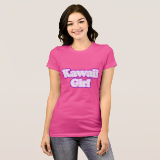 Menina de Kawaii - camisa