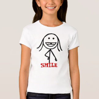 Menina dentada de Gap, sorriso Tshirts