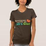 menina do anos 80 t-shirt