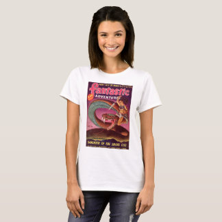 Menina do cobra camiseta