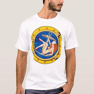 Menina do marinheiro camiseta