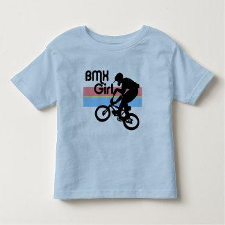 Menina do menino de BMX/BMX T-shirts