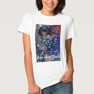 Menina do narcótico fresca t-shirt