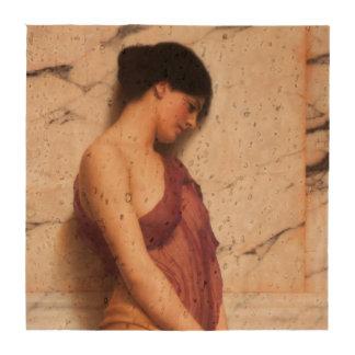 Menina do pandeiro por John William Godward Descansos De Copos