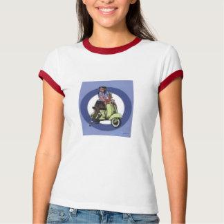 menina do patinete t-shirt
