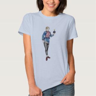 menina do skinhead tshirts