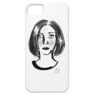 Menina francesa capa barely there para iPhone 5