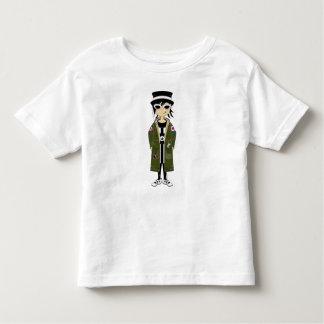 Menina legal da modificação no T do chapéu e do Camiseta