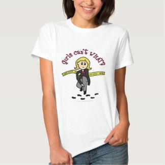 Menina loura de CSI T-shirt