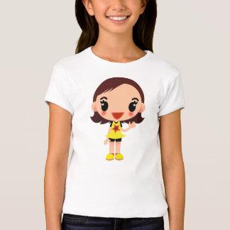 Menina no vestido bonito t-shirts