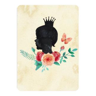 Menina Queenie Convite 12.7 X 17.78cm