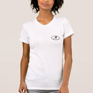 menina rápida t-shirts