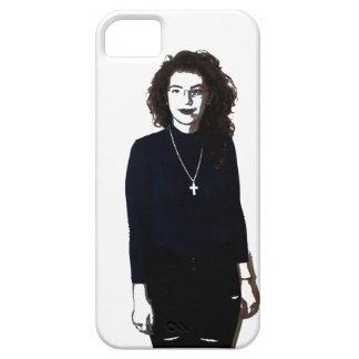 Menina rebelde capa barely there para iPhone 5