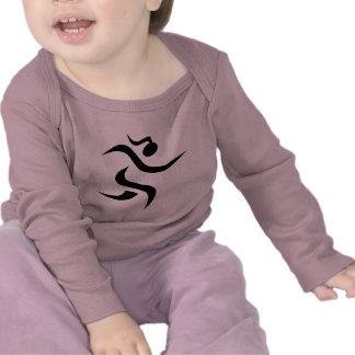 menina running camisetas